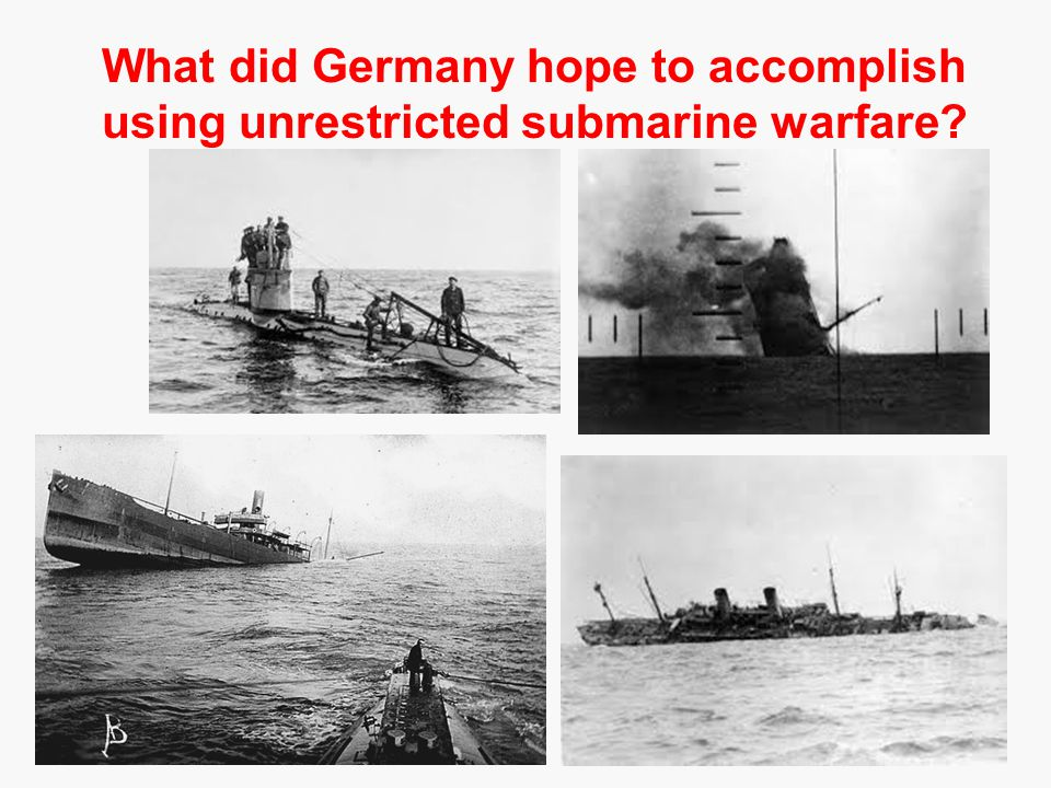 Unrestricted Submarine Warfare ...