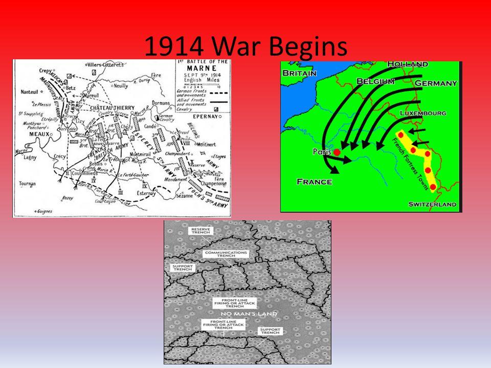 1914 War Begins