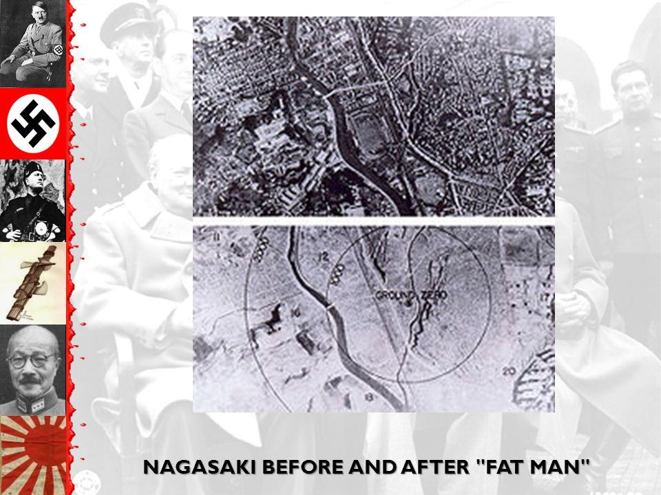 NAGASAKI BEFORE AND AFTER
