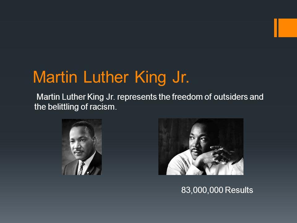 Martin Luther King Jr. Martin Luther King Jr.