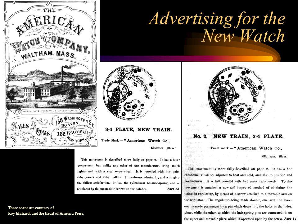 1872 Model American Grade Watches