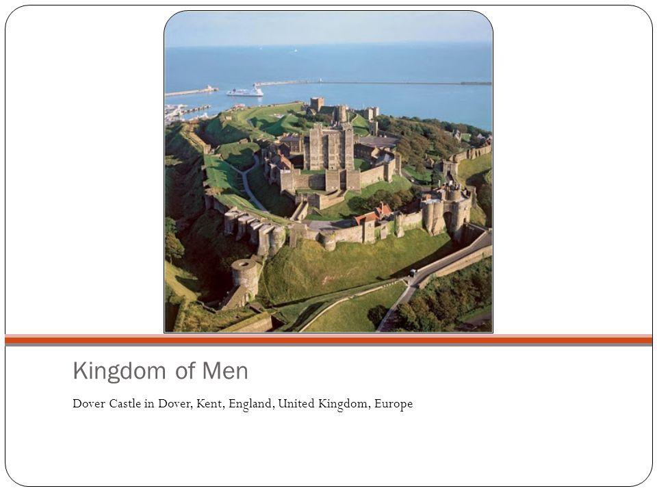 Kingdom of Men Dover Castle in Dover, Kent, England, United Kingdom, Europe