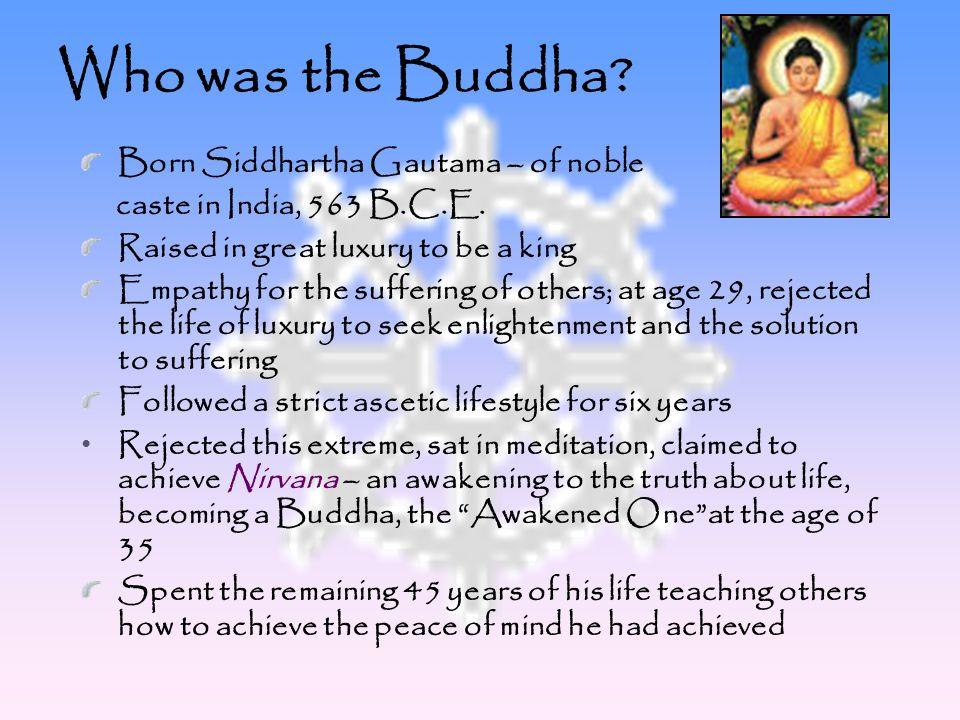 What did the Buddha teach.