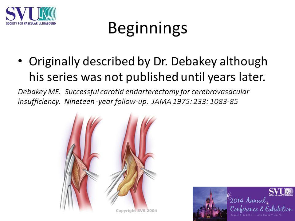Beginnings Originally described by Dr.