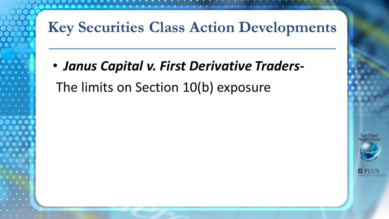 Erica P.John Fund v. Halliburton- The class certification battle.