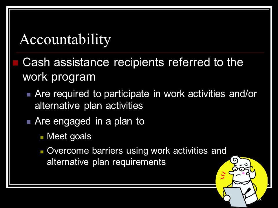 59 Answer 1.Applicants 2. Transitional Participants 3.