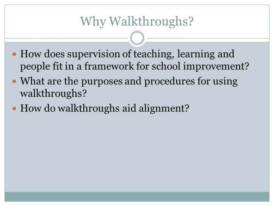 How does supervision of teaching, learning and people fit in a framework for school improvement.