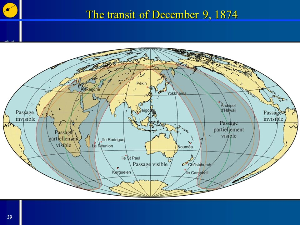 39 The transit of December 9, 1874