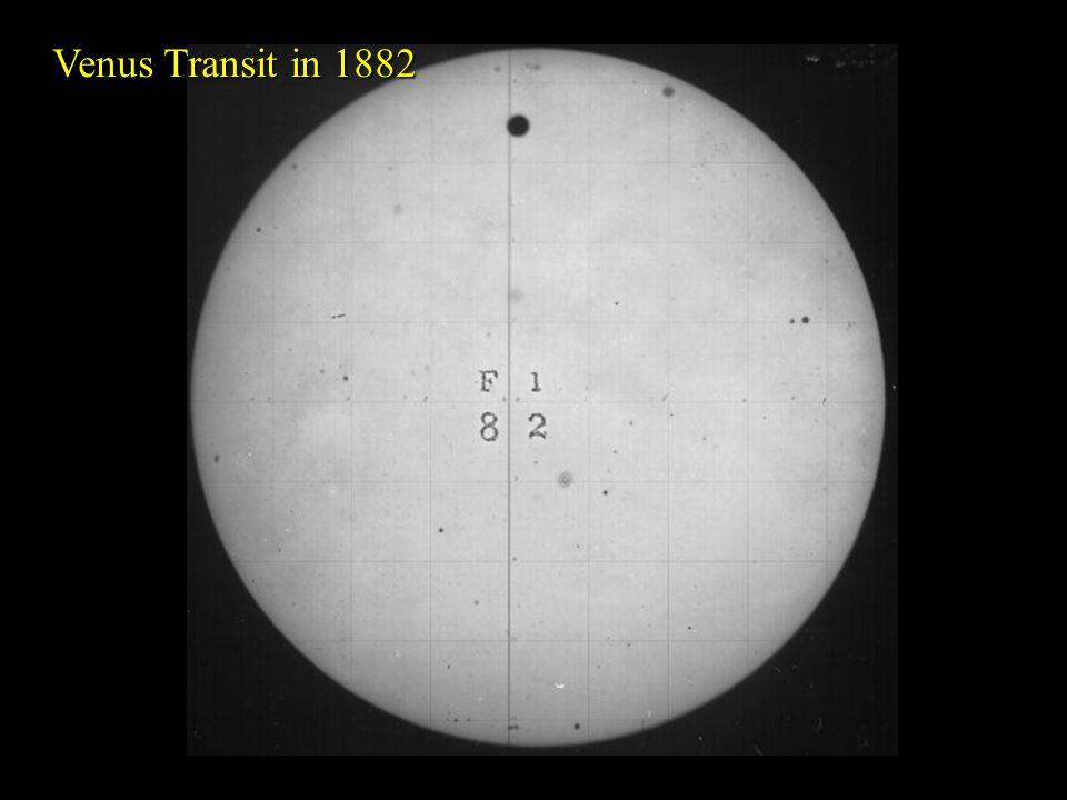 49 Venus Transit in 1882