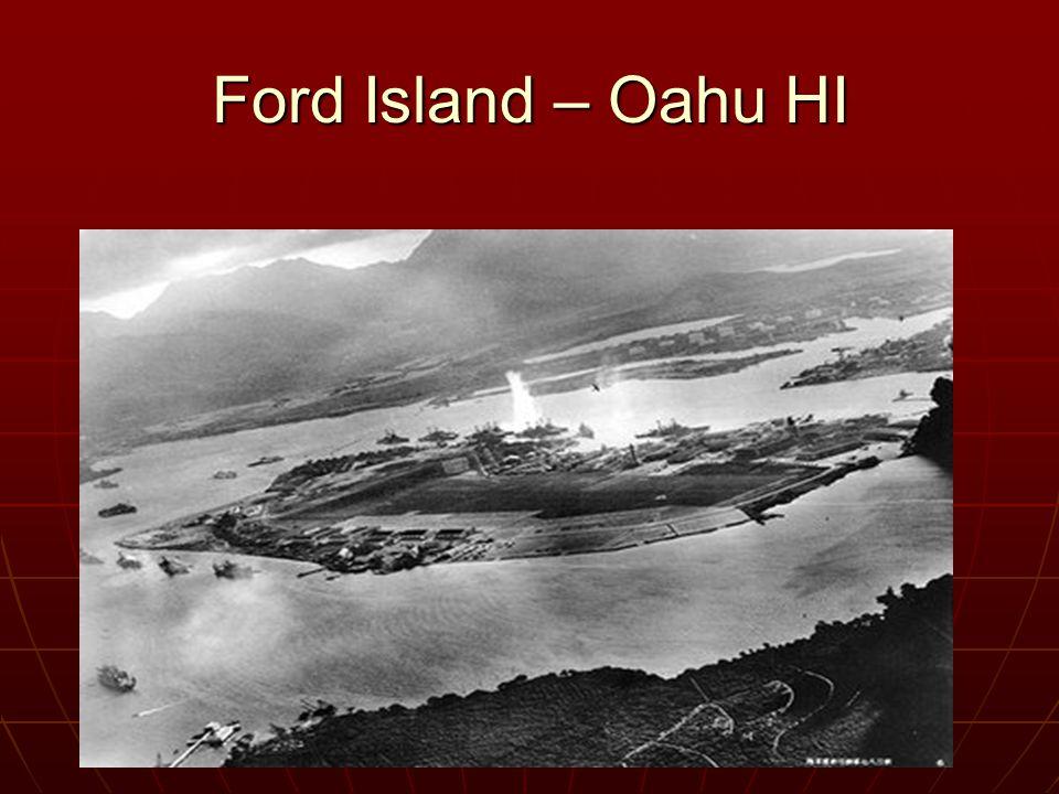 Ford Island – Oahu HI