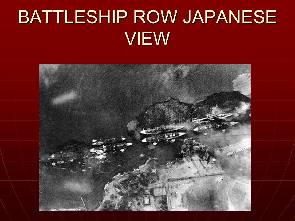 BATTLESHIP ROW JAPANESE VIEW