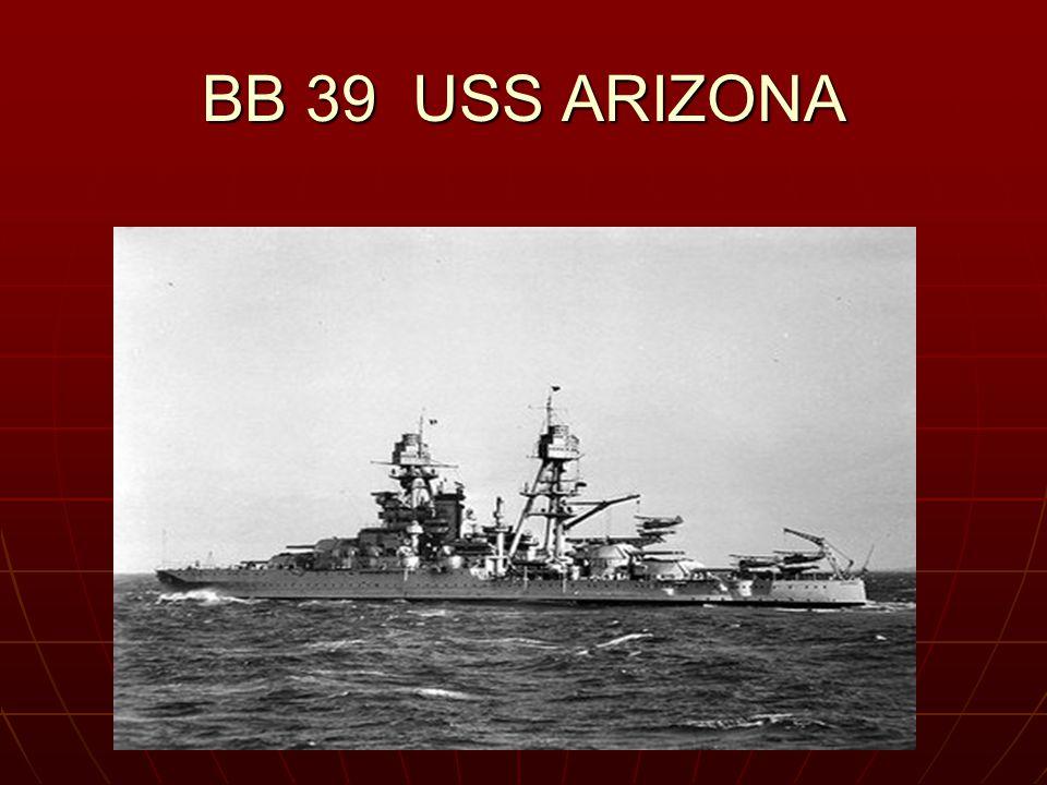 BB 39 USS ARIZONA