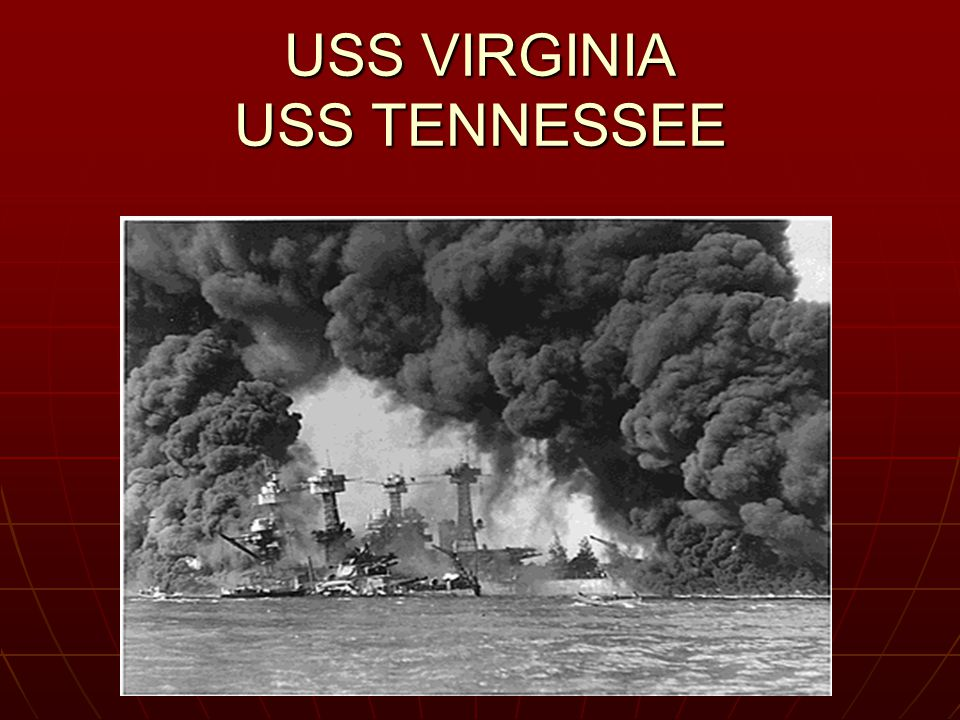 USS VIRGINIA USS TENNESSEE