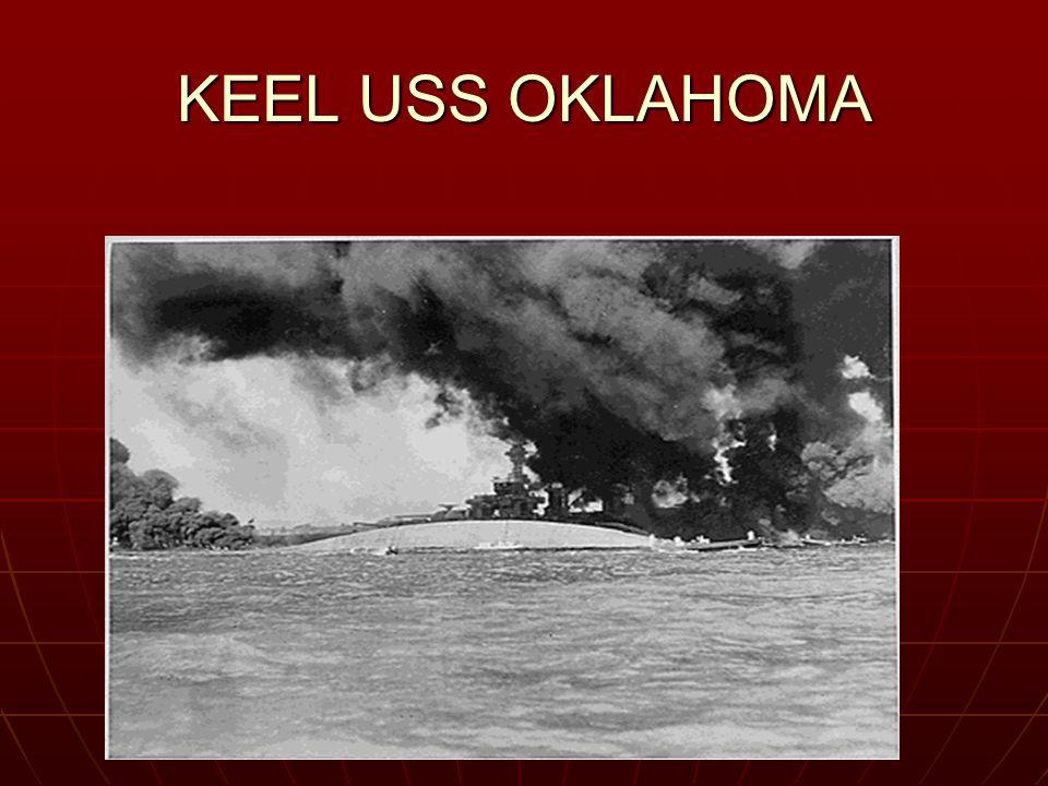 KEEL USS OKLAHOMA