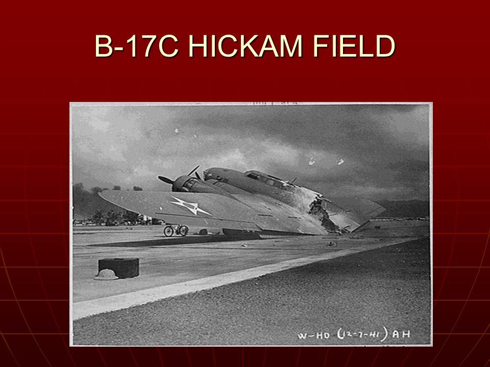 B-17C HICKAM FIELD