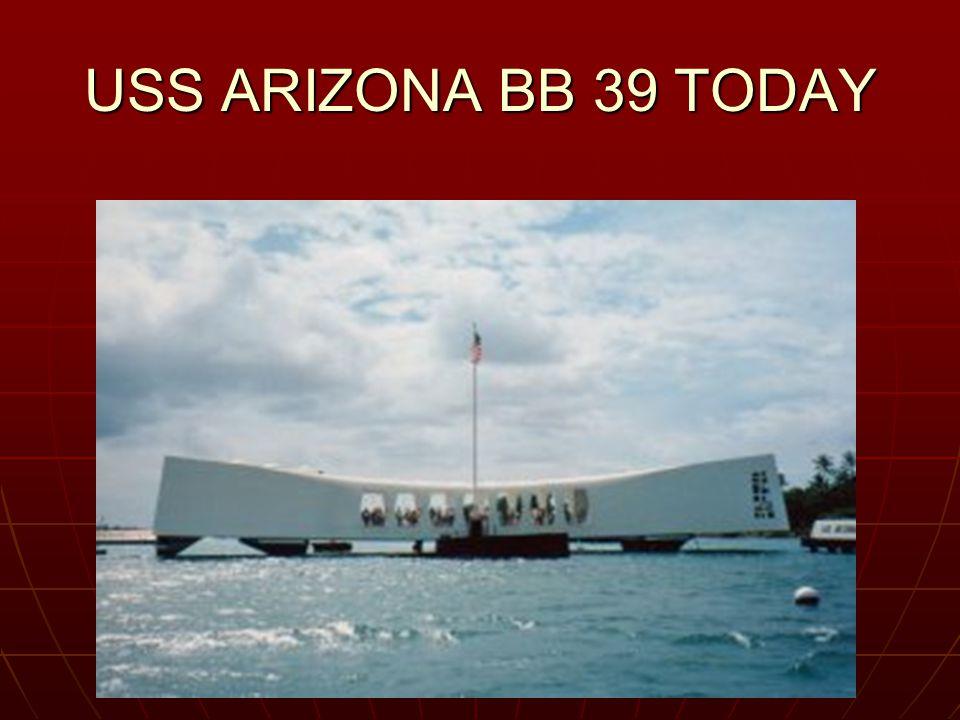 USS ARIZONA BB 39 TODAY