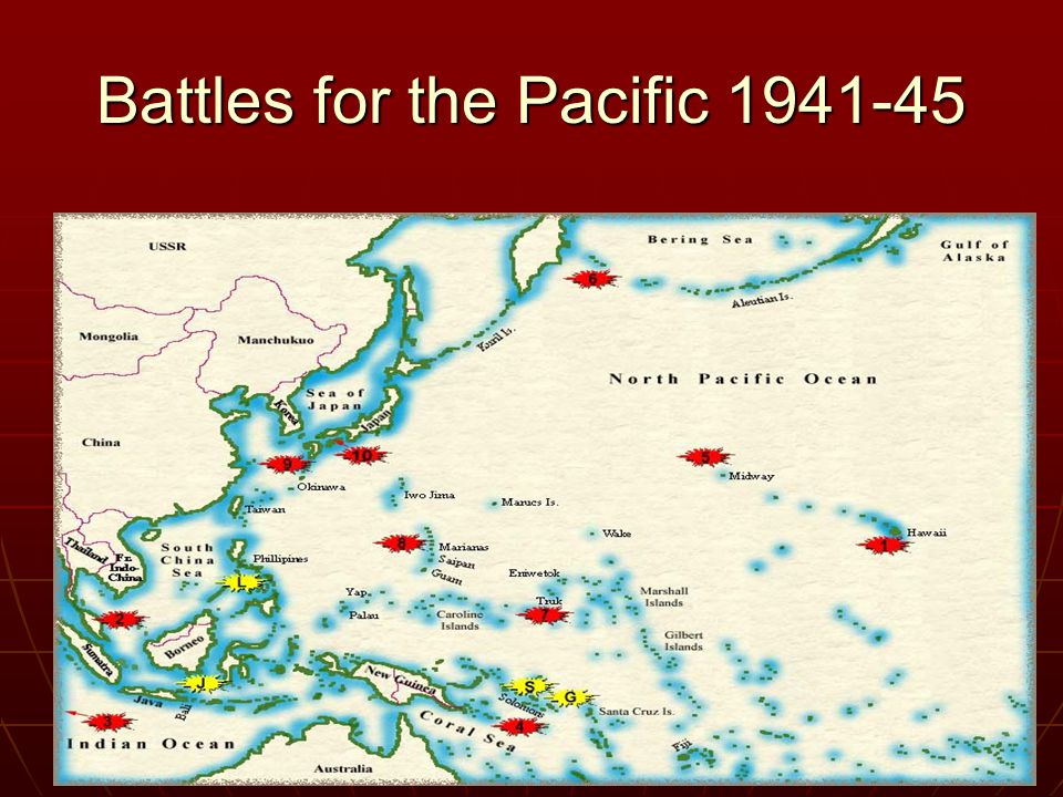 Battles for the Pacific 1941-45