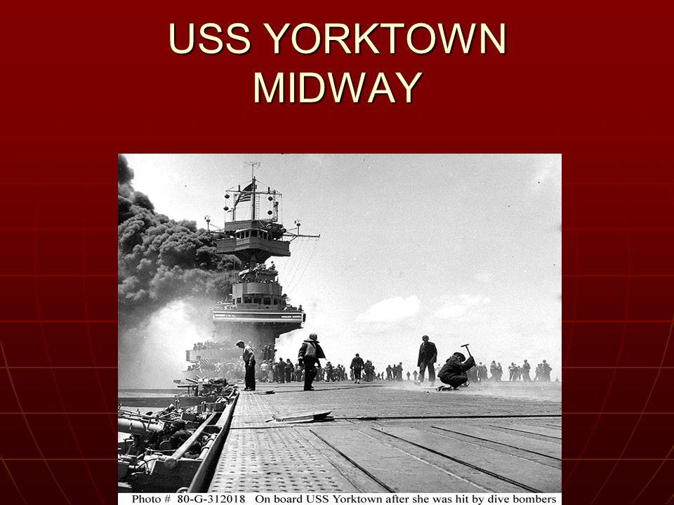 USS YORKTOWN MIDWAY