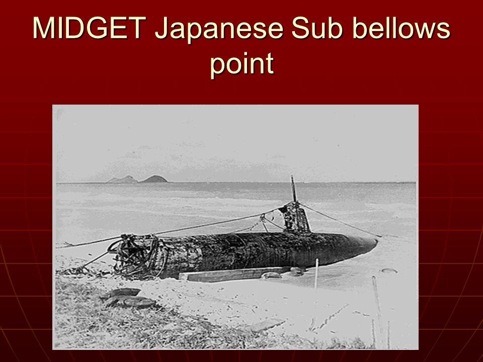 MIDGET Japanese Sub bellows point