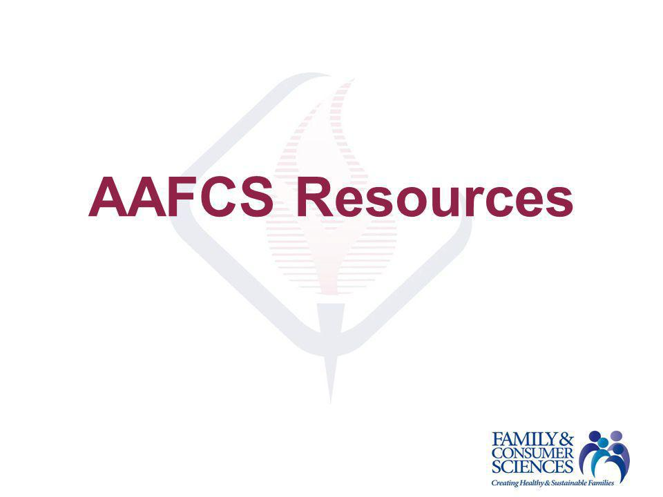 AAFCS Resources