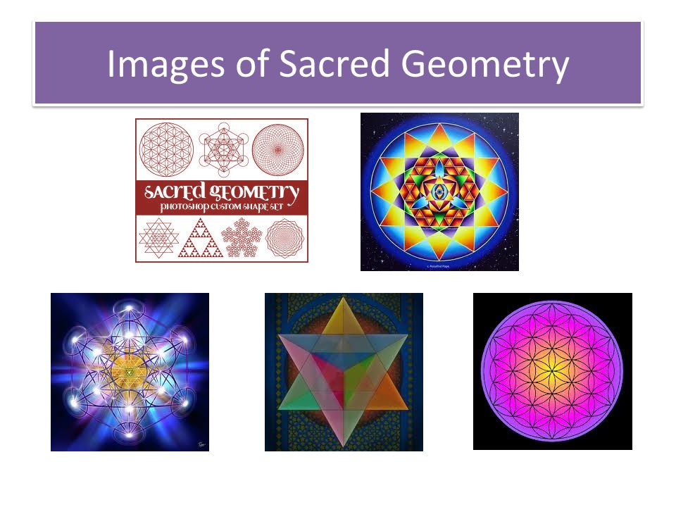 Images of Sacred Geometry