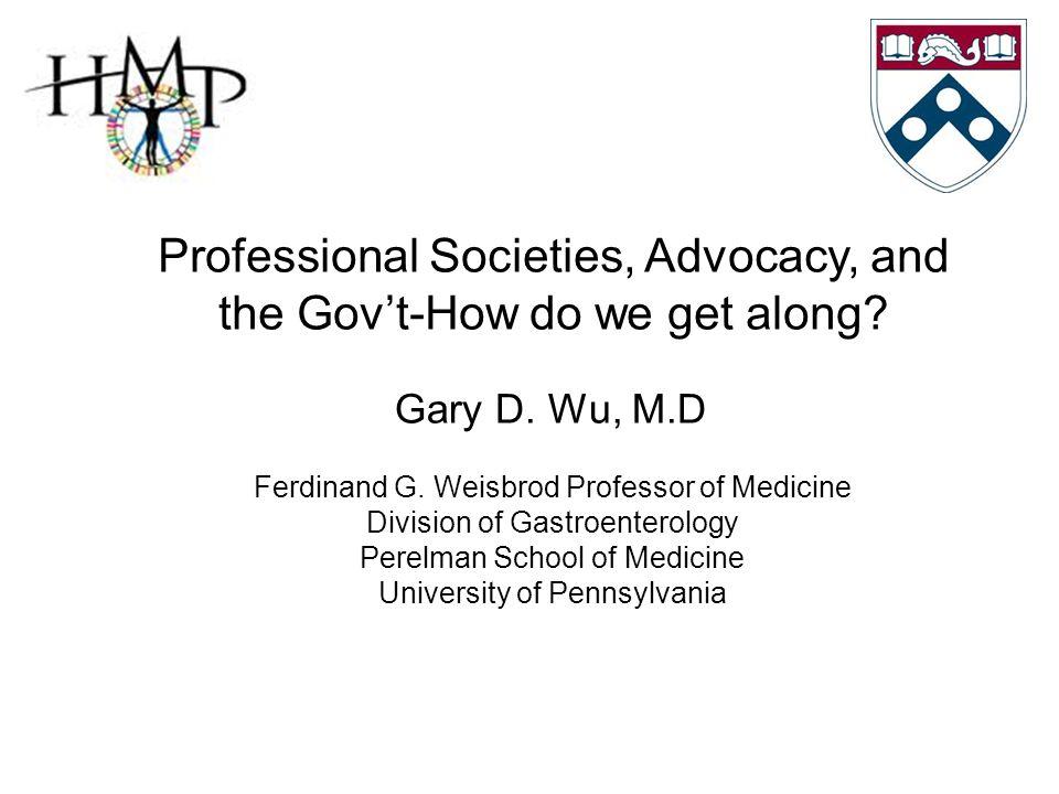 Gary D.Wu, M.D Ferdinand G.