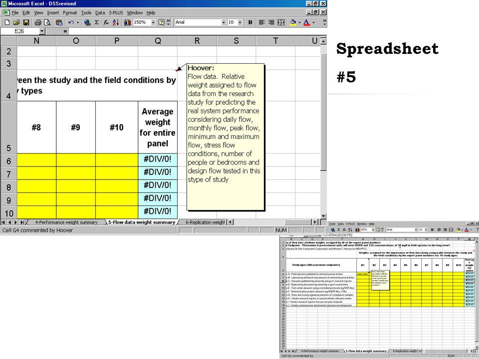 32 Spreadsheet #5
