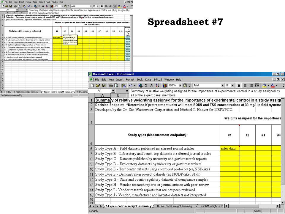 36 Spreadsheet #7