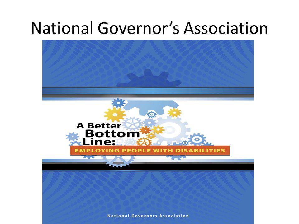 National Governor's Association