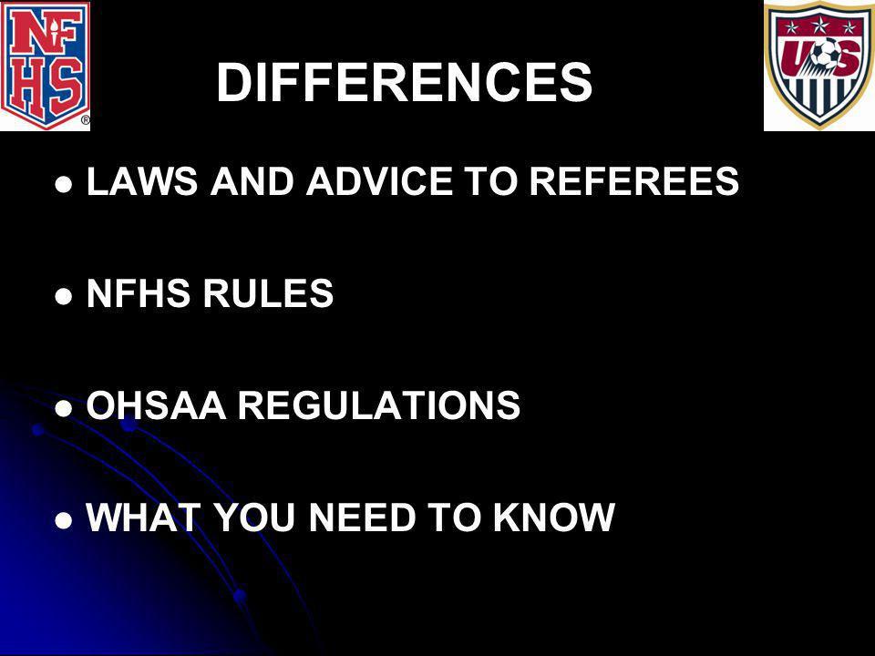 RULE/LAW 4: EQUIPMENT 1.1. UNIFORM NUMBERS: 2. 2.