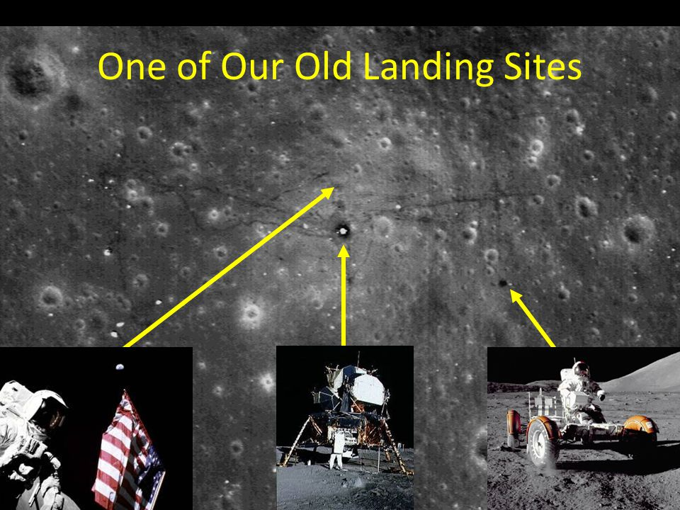 One of Our Old Landing Sites