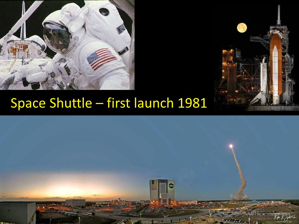 Space Shuttle – first launch 1981