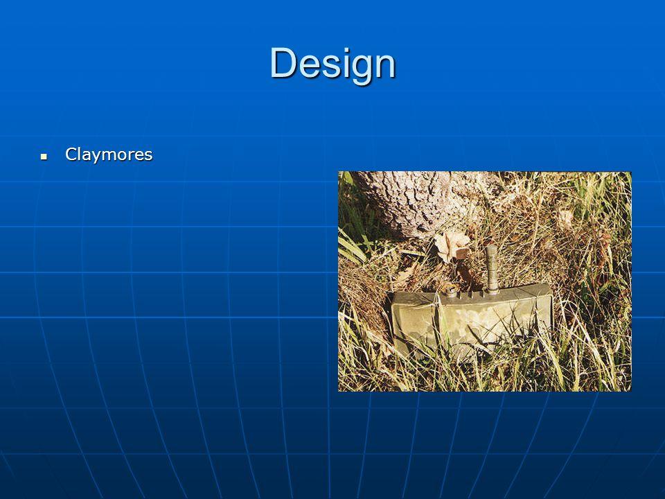 Design Claymores Claymores