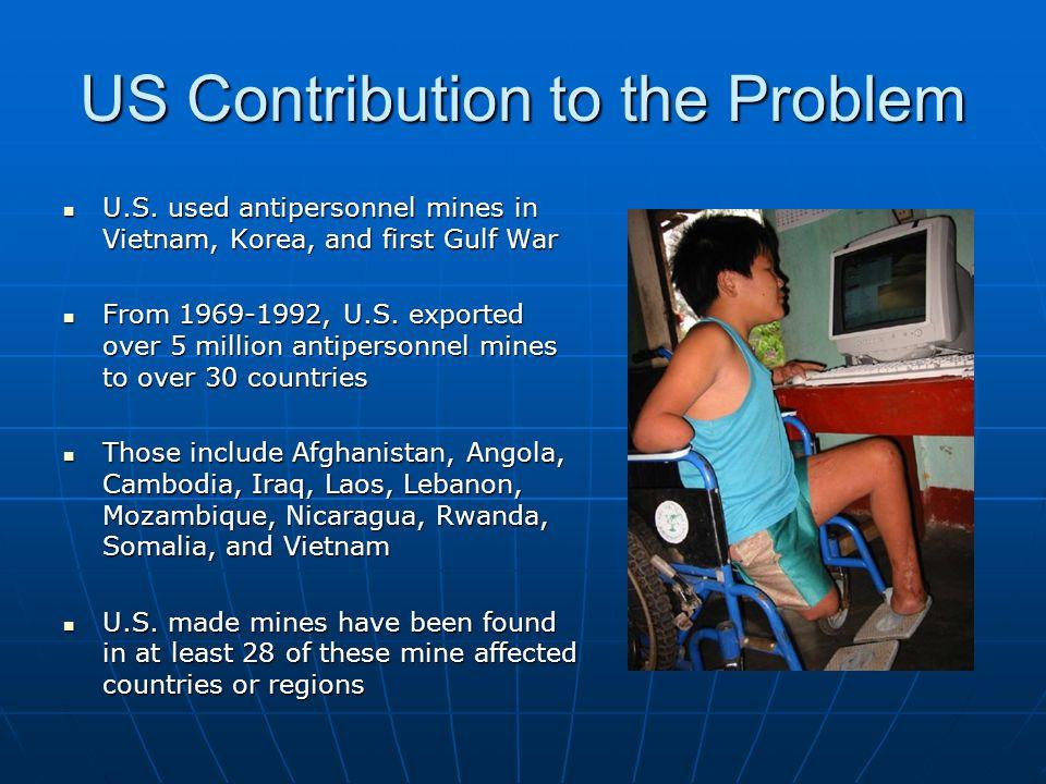 US Contribution to the Problem U.S.