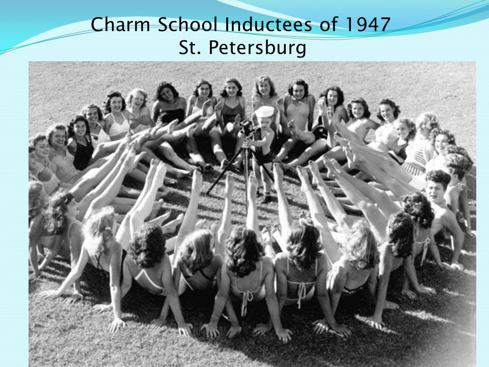 Charm School Inductees of 1947 St. Petersburg