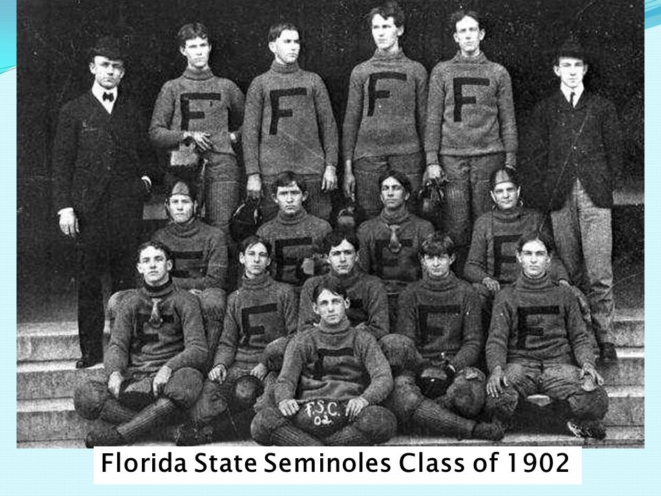 Florida State Seminoles Class of 1902