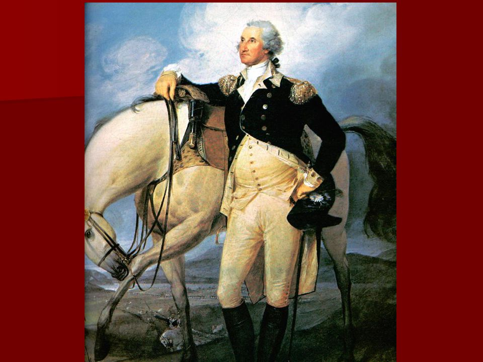 He wore his made in the U.S.A. brown suit with white stockings He wore his made in the U.S.A. brown suit with white stockings He was nervous- As he stood on the balcony of Federal Hall his knees shook.