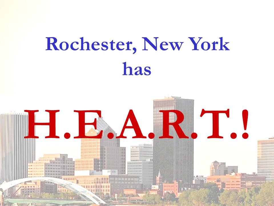 Rochester, New York has H.E.A.R.T.!