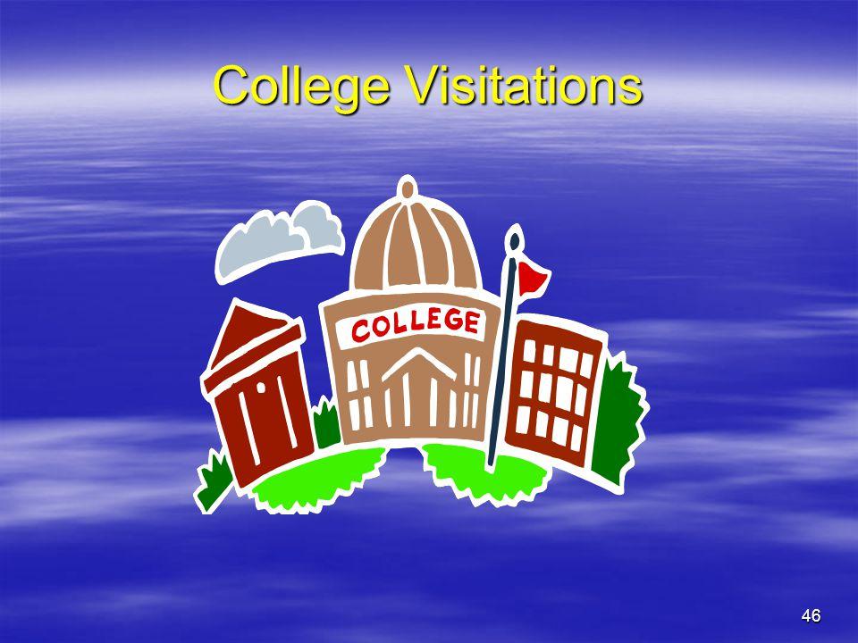 46 College Visitations