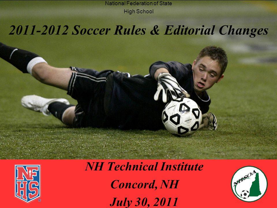 7/30/20112 Introduction 2011 NHSOA Soccer Rules Interpretation Ted Kitsis, NHSOA Rules Interpreter –Contact Information E-mail : tjkitsis@gmail.comtjkitsis@gmail.