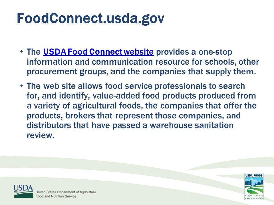 www.fns.usda.gov/USDAFoods USDA Foods Toolkit Updated Additional Bid Tools coming soon.