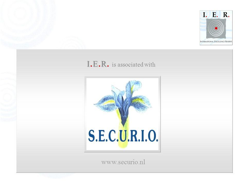 IER I. E. R. is associated with www.securio.nl