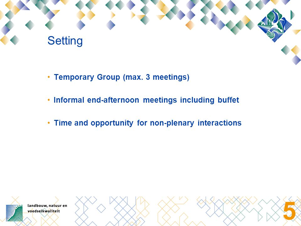 5 Setting Temporary Group (max.