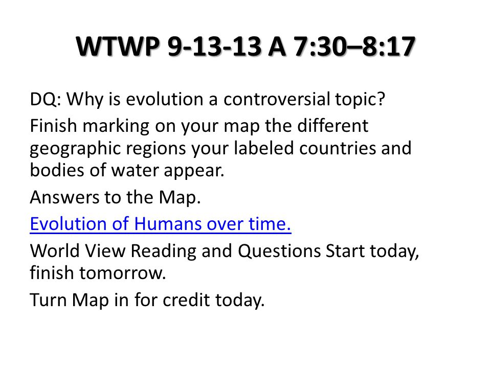 WHWP 11-22-13 T 7:30–8:25 DQ: How do humans trade items over long distances.