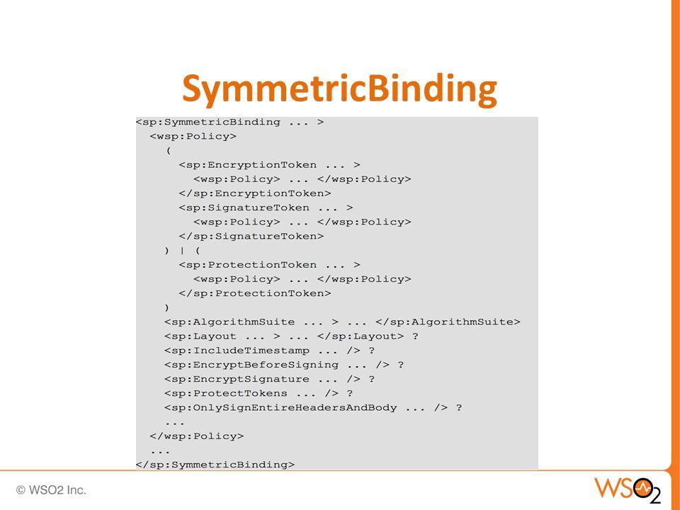 SymmetricBinding
