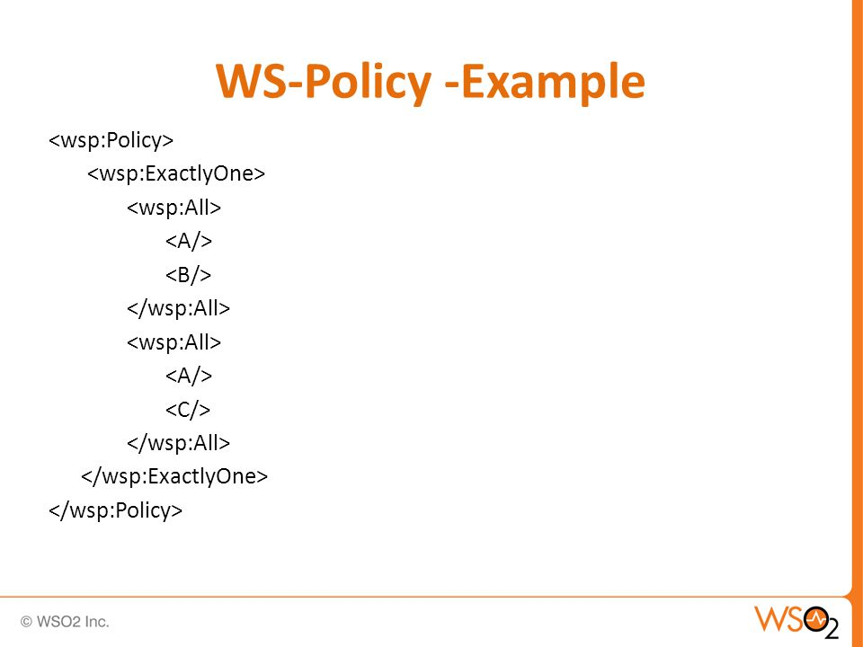 and are commutative and are associative and are idempotent and are distributive WS-Policy