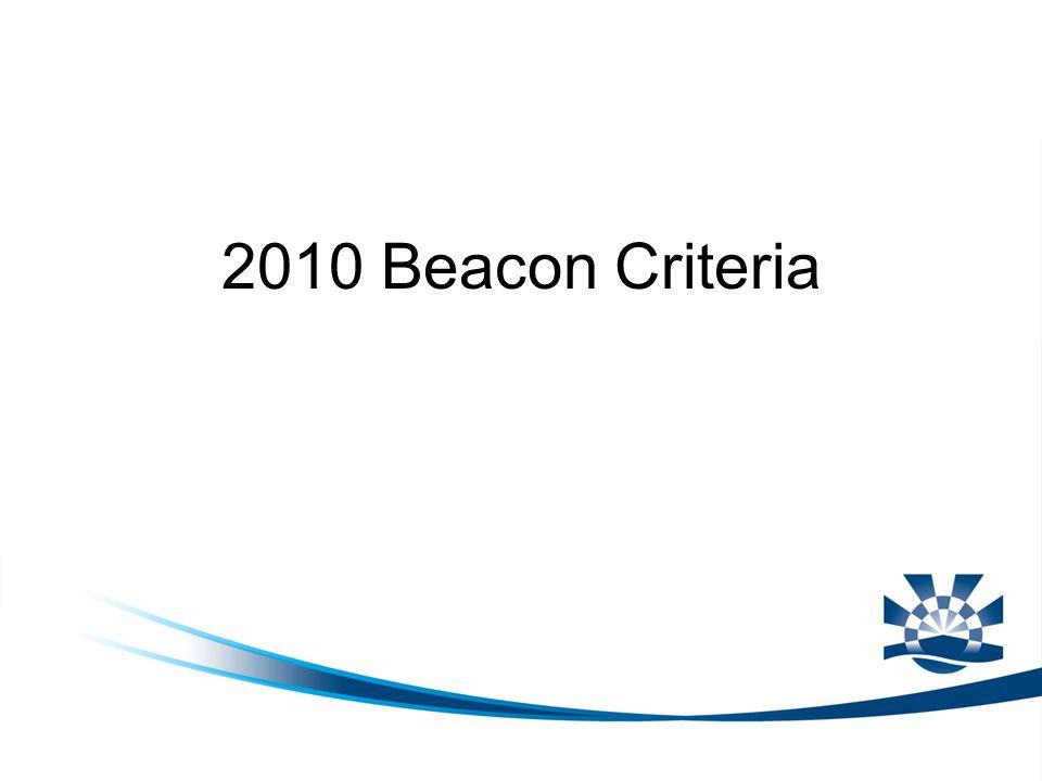2010 Beacon Criteria