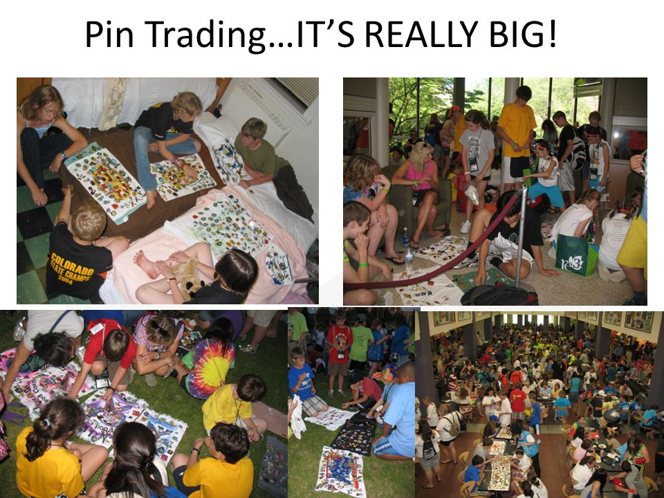 Pin Trading…IT'S REALLY BIG!