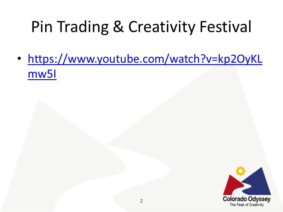 Pin Trading & Creativity Festival https://www.youtube.com/watch v=kp2OyKL mw5I https://www.youtube.com/watch v=kp2OyKL mw5I