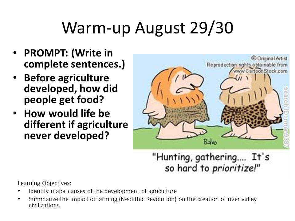 Today's lesson September 3/4 Journal Prompt Hammurabi's code Notes re Mesopotamia Finish group work – Hunter/gatherer – Ur/ Austin Chapter 2 Pictograph assignment due next class
